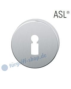 12-1735 Schlüsselrosette ASL® Buntbart Edelstahl feinmatt FSB