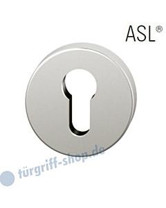 12-1735 Schlüsselrosette ASL® PZ in Alu F1 natur eloxiert FSB