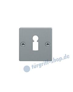 17-1796 BB Schlüsselrosette quadratisch, sichtbar befestigt, Edelstahl matt von FSB