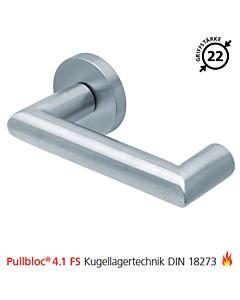 2009 Feuerschutzgarnitur Pullbloc® 4.1 FS Kugellager Edelstahl matt von Scoop