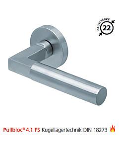 2016 Feuerschutzgarnitur Pullbloc® 4.1 FS Kugellager Edelstahl matt von Scoop - ohne Schlüsselrosette