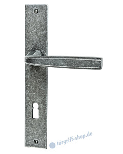 212 Langschildgarnitur schwarz passiviert von Halcö