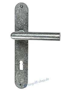 213 Langschildgarnitur schwarz passiviert von Halcö