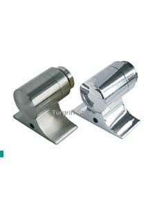 Türstopper aus Messing mit Magnet zum Feststellen (kantig) Lienbacher