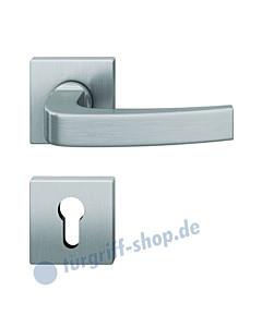 12-1163 quadratische Rosettengarnitur ASL® Edelstahl feinmatt von FSB
