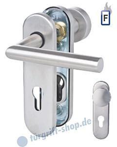 Sicura Kurzschild Ronny Feuer-Schutzgarnitur Knopf / Drücker Stift 9 mm Aluminium F1 Südmetall