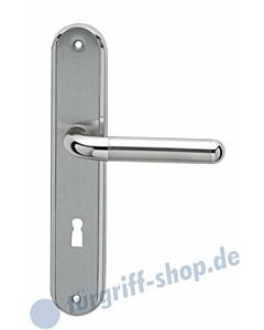 Lignano Steel RL 35 Langschildgarn. Chrom/Nickel-matt Karcher