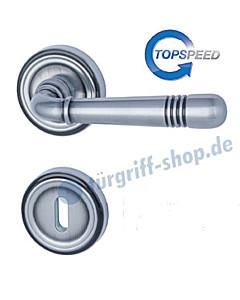 Scarlet-R Rosettengarnitur Top Speed Stahlgrau matt BK3 Südmetall