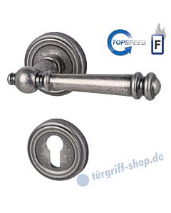 Mount-Everest-R Feuerschutz-Rosettengarnitur Top Speed GK4, Stift 9 mm, Antik Iron von Südmetall