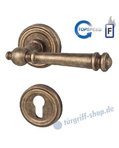 Mount-Everest-R Feuerschutz-Rosettengarnitur Top Speed GK4, Stift 9 mm, Antik Bronze von Südmetall