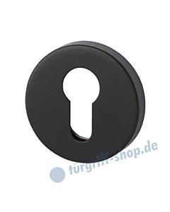 Schutzrosette PZ Durchmesser Ø 55 mm schwarz matt Südmetall