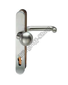 73-7330 Schutzgarnitur für Rahmentür Knopf/Drücker 92 mm in 2 Farben FSB