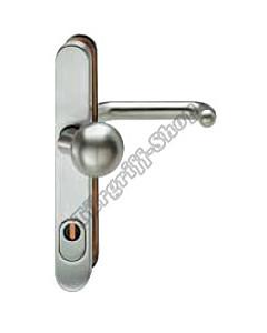 73-7331 Schutzgarnitur mit KZS für Rahmentür Knopf/Drücker 92 mm in 2 Farben FSB