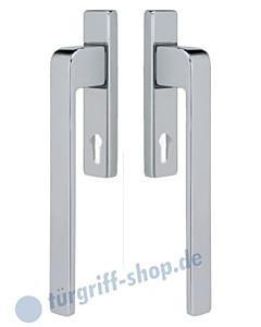 Hebe-/Schiebetürgriff Paar | modern | PZ-Lochung, in 2 Farben von Jatec