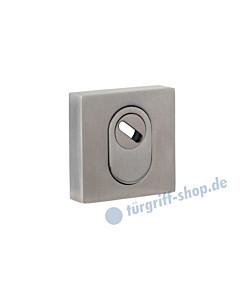 Schutzrosette außen 371-855-200 quadratisch, PZ mit Kernziehschutz in 3 Farben Jatec