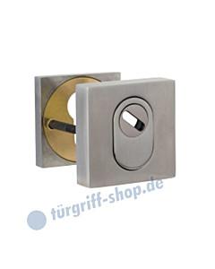 Schutzrosettenpaar 371-855-500 quadratisch mit Kernziehschutz in 3 Farben Jatec