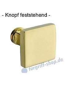 Knopf 373-508 feststehend, ungebohrt 50 x 50mm in Ultra Messing Jatec