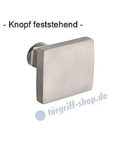 Knopf 373-508 feststehend, ungebohrt 50 x 50mm in Ultra Nickel oder Mattnickel Jatec