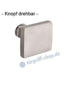 Knopflochteil 373-508 drehbar 50 x 50 mm, 8 mm Vierkantaufnahme, Ultra Mattnickel Jatec