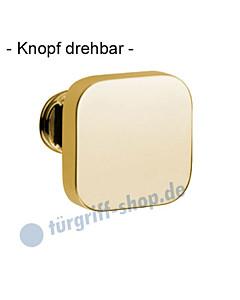 Knopflochteil 375-508 drehbar 50x50mm, 8mm Vierkantaufnahme Ultra Messing Jatec