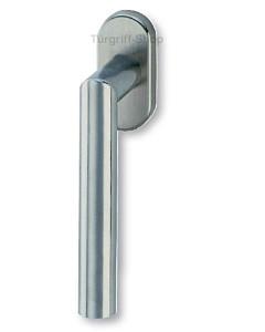 Ronny Fenstergriff Metall-Unterkonstruktion Edelstahl-matt Südmetall
