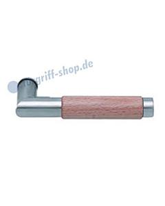 1X74 (Chiara) Holz Drückerpaar Edelstahl matt von Scoop