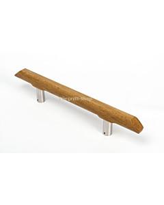 Stossgriff Eiche gerades Holz L 45 cm BA 250 mm