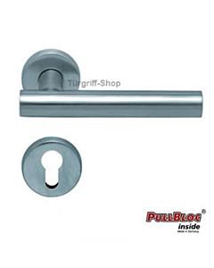 1074 (Roxy) Halbgarnitur PZ PullBloc Edelstahl matt o.poliert Scoop