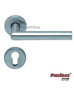 1106 (Thema) Halbgarnitur PZ PullBloc Edelstahl matt o. poliert Scoop