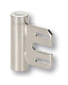 Bandmittelteil für Stahlzargen für 3-teilige Glastürbänder Südmetall