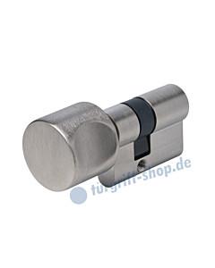 Bad Spezialzylinder für Glastürschlösser Edelstahl matt Südmetal