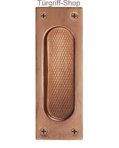 Einlassmuschel FSB 42-4211 Bronze rechteckig offen