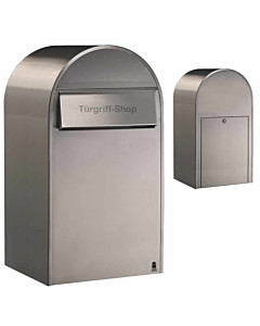 Bobi Grande B Edelstahl-Briefkasten - Großraumbriefkasten