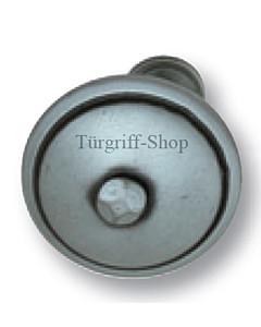 Knopf Vigaun gerade, drehbar Stahl geschwärzt matt von Südmetall