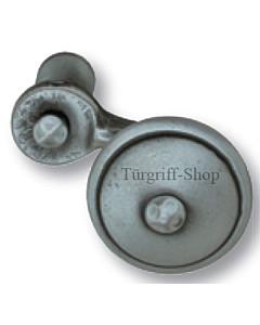 Knopf Vigaun versetzt drehbar Stahl geschwärzt matt von Südmetall