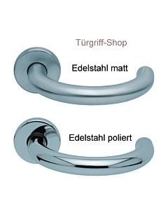 1070 (Baloo) Rosettengarnitur PullBloc Edelstahl matt o. poliert von Scoop
