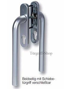 Patrik 2010 Hebe-/ Schiebetürbeschlag aus Aluminium von Südmetall