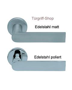 1008 (Semi) FS Rosettengarnitur PullBloc Edelstahl von Scoop