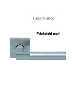 1016 (Bauhaus) FS Quadrat-Rosettengarnitur PullBloc Edelst. Scoo