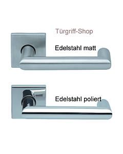 1009 (Thema U) FS Quadrat-Rosettengarnitur PullBloc Edelstahl Sc