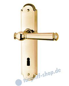 Sanssouci S990 Langschildgarnitur Ultra Messing von Jatec