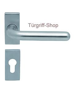 1200 (Image II) FS-Rosettengarnitur eckig PullBloc Edelstahl Scoop