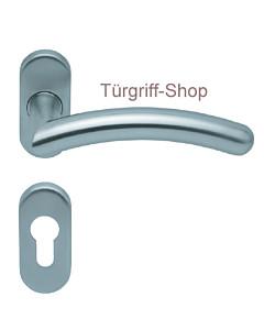 1084 (Prima) FS-Rosettengarnitur oval PullBloc Edelstahl Scoop
