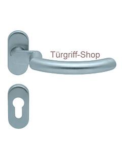 1085 (Golf) gekr. FS-Rosettengarnitur oval PullBloc Edelstahl Sc