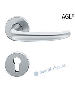 72-1023 Rosettengarnitur | Objektqualität mit Ausgleichslager AGL® Edelstahl feinmatt von FSB