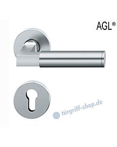 72-1102 Rosettengarnitur | Objektqualität mit Ausgleichslager AGL® Edelstahl feinmatt von FSB