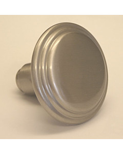 Knopf Scarlet drehbar Ø 58 mm Nickel-matt von Südmetall