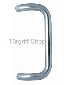Stoßgriff SG 05 Ø 32/300 Rechteck-Form Edelstahl matt Scoop