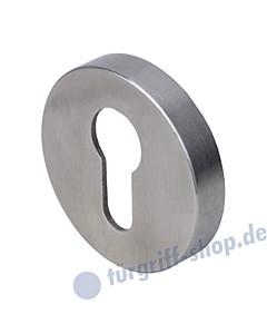 Schutzrosette außen PZ Ø 55 mm o. KZS Edelstahl matt Südmetall