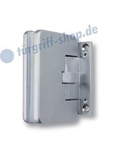 Glastür-Pendeltürband 0810 Edelstahlfarbig von Südmetall